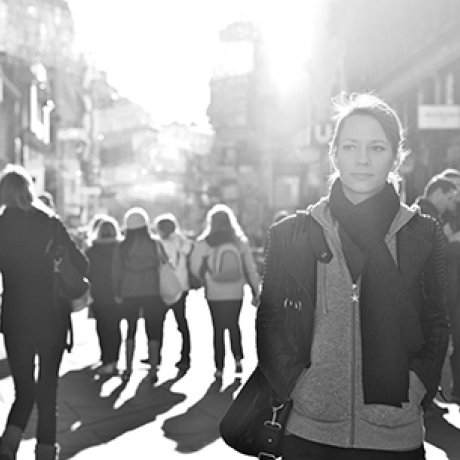What we do_Woman in street