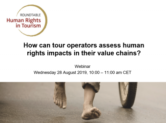 Webinar Human Rights impact assessment August 2019