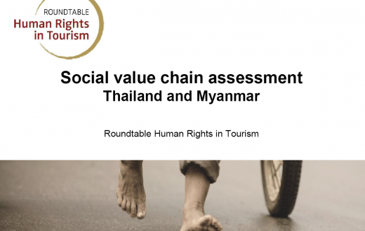 Social Value Chain Assessment in Thailand/Myanmar