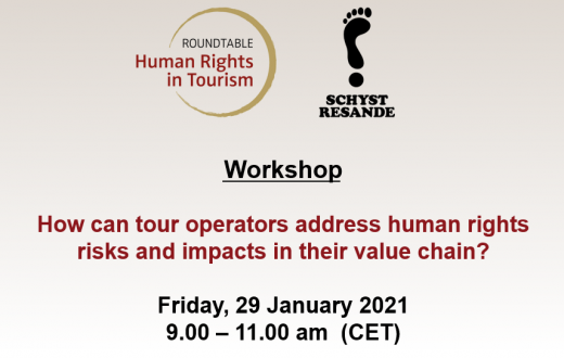 Workshop Schyst Resande Roundtable 29 January 2020